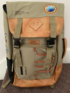 Friday The 13th Camp Crystal Lake Backpack