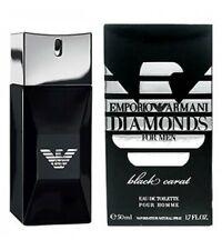Emporio Armani DIAMONDS for men BLACK CARAT eau de toilette 50 ml 1.7 oz new