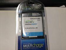 230-1350 Digital Energy 1200mAh Li-ion Battery Kit for HTC Evo 3D, Sensation