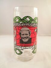 Vintage Terry Bradshaw Coca Cola drinking glass NFL Pittsburgh Steelers