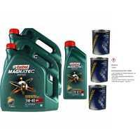 11L Olio Motore Castrol Magnatec Diesel 5W-40 DPF 3xMotor Flush