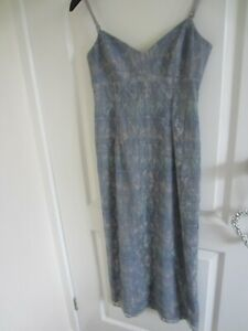 Whistles lace effect grey dress size 8