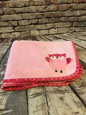 Falls Creek Security Blanket Lovey Pink Owl