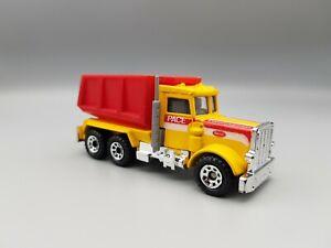 Matchbox Convoy Peterbilt Tipper Truck Diecast Model 1981 - Near Mint Condition