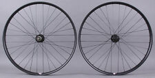 Velocity Dually 29er Mountain Bike Wheelset Novatec 4 in 1 Hubs Thru Axle and QR