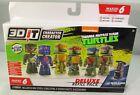 3DIT Character Creator - Teenage Mutant Ninja Turtles Deluxe Refill Kit - New