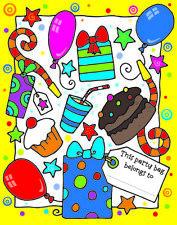 Souvenir de fiesta Saquear Bolsas-Diversión Niños Motiv-Cumpleaños De Niños Regalo - 10 Paquete