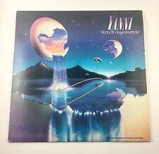 Yanni Signed Autographed Keys To Imagination Vinyl Album COA PROOF Greek