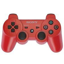 SONY Sixaxis PLAYSTATION 3 Inalámbrico Bluetooth Controlador de Cable Rojo + PS3