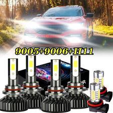 Combo 9005+H11+H11 LED Headlight Kit Hi/lo Beam 6000K FOR Honda Accord 2008-2016