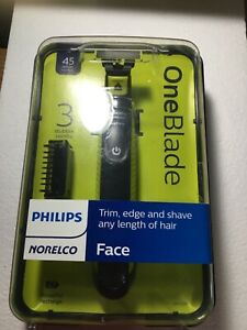 Philips Norelco OneBlade Face Hybrid Electric Trimmer and Shaver (QP2520/70)