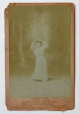 Antique PRINCESS NOUMA Wendt Cabinet Photo BUFFALO BILL WILD WEST Circus Midget