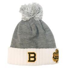 Boston Bruins adidas 2019 NHL Winter Classic Cuffed Winter Knit Hat with Pom