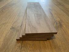 Walnut Timber Offcuts 4 Pieces @ 450mm x 120mm x 10mm (American Black Walnut)