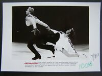 Glossy Press Photo 1984 Trovill & Dean Ice Dancing 2 1984 Winter Olympics