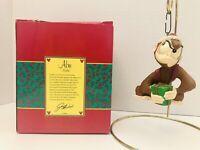 VTG Disney Artist Collection Alladin ABU Ornament In Box- RETIRED RARE