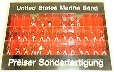 Stati Uniti Marina Banda Sonderfertigung Preiser 00261 H0 1:87 conf. orig. â √
