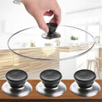 Lid Knob Plastic Knob Handle Universal Silicone Glass Lid Cover Kitchen Gadget Y