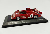 MINICHAMPS 1:43 - Alfa Romeo 33 TT 12 Winner Coppa Florio 1975 400751201 WKRT