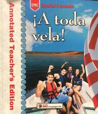 A Toda Vela! Spanish Annotated Teacher's Edition by EMC Publishing