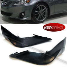 Fit 11-13 IS250 IS350 Unpainted PU F Sport Style Front Bumper Lip Add On