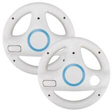 2Pcs Steering Wheel For Nintendo Wii  Mario Kart Racing Game Remote Controller