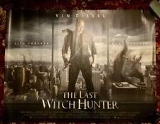 The Last Witch Hunter ORIGINAL UK QUAD POSTER 2015(Vin Diesel,Elijah Wood)