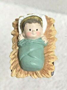 Hallmark Merry Minis Just Baby Jesus from the 1988 Nativity