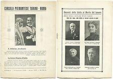 CIRCOLO PIEMONTESE TORINO-ROMA_IL PRINCIPE EREDITARIO E LA FUTURA REGINA, 1930*