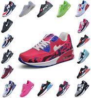 Herren Damen Mode Schuhe Freizeit Turnschuhe Sneaker Jogging Sportschuhe Schwarz
