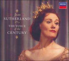 The Voice of the Century (CD, Nov-2006, 2 Discs, Decca) Joan Sutherland