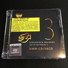 Stockfisch Records Art Of Recording 3 Hybrid DMM-CD SACD Allan Taylor