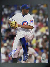 Francis Beltran Signed Autographed 8x10 Leg Lift Photo Chicago Cubs MLB Auth