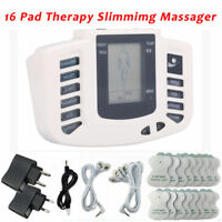 Muscle Therapy Massager Electric Massage Machine Pulse Stimulator Pain Relief HL
