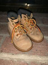 Timberland Leather Waterproof Chukka Boots Distressed Unisex Toddler 7.5 ❤️tb9j7