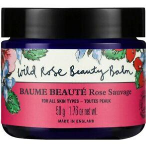 Neal's Yard Remedies Wild Rose Beauty Balm 50g - Includes cloth BNIB