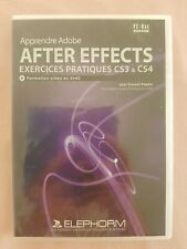 CD-ROM, Apprendre Adobe After Effects, Exercices Pratiques CS3 & CS4, V Papaix