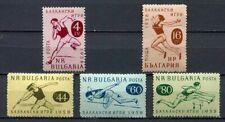 33424) BULGARIA 1958 MNH** Balkan Games 5v Scott #1030/34