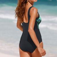 Peacock Women One-Piece Swimsuit Beachwear Swimwear Bathingsuit Plus Size OW