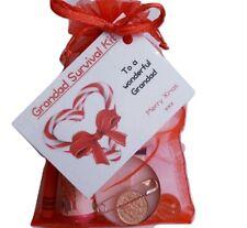 Grandad Christmas Survival Kit Keepsake Stocking filler Gift