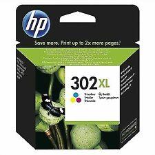 HP 302XL Cartucho de Tinta Original para HP DeskJet, HP OfficeJet y HP ENVY - Tricolor