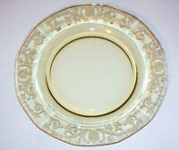 "Set of 8 Fostoria VERSAILLES YELLOW TOPAZ* 6"" BREAD & BUTTER PLATES* #2375* MINT"