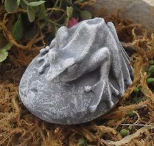 "Latex only frog plaster concrete mold 3"" x 2.5"" x 2"""