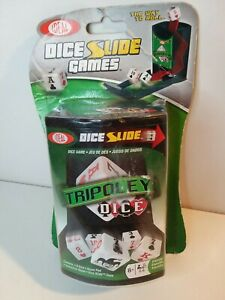 Ideal Tripoley Dice Slide Game - NEW SEALED