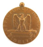 US USA AMERICAN WW2 GOOD CONDUCT MEDAL. UNNAMED.
