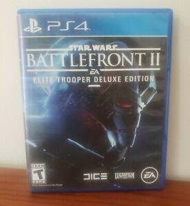 Star Wars Battlefront II: Elite Trooper Deluxe Edition PS4 Game
