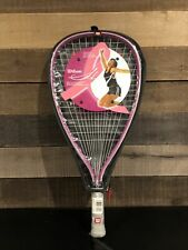 Wilson Hope Racquetball Racquet Breast Cancer Awareness Pink New w/ Cover 3 7/8