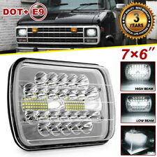 "7X6"" 5X7"" 150W LED Headlight hi-lo beam DRL sealed For Chevrolet  Express jeep"