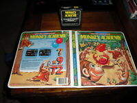 ColecoVision MONKEY ACADEMY Video Game by Coleco RARE