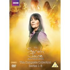 The Sarah Jane Adventures Series 1 + 2 + 3 + 4 + 5 Season Reg 4 New DVD Complete